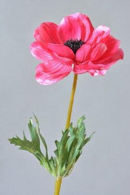 Anemoon kunstbloem, roze
